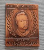 Placheta Mihai Eminescu - 2012 - Medalie - Portret