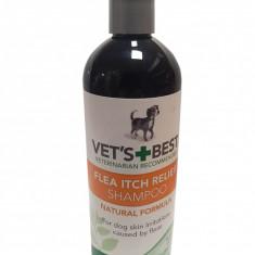 Sampon pentru dermatite alergenice cauzate de purici caini, Vet s Best, 470 ml