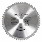 Disc fierastrau circular pentru lemn, 60 de dinti din carbura de wolfram, 250x30x2.2mm, Yato YT-6072