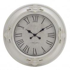Ceas decor perete White Ivory 57 cm