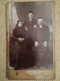 Foto carton kabinett veche, 11x16 cm, Schnur Miklos , Periam / Perjamos, Banat