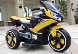 Motocicleta electrica pentru copii Eagle Yellow