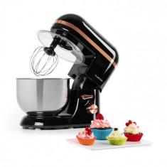 Klarstein Bella Elegance, robot de bucătărie, 1300 W, 1,7 HP, 6 nivele, 5 litri, negru
