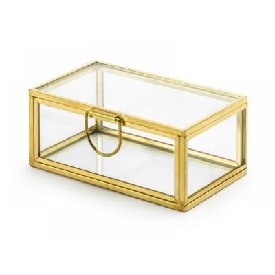 Cutie din sticla pentru verighete foto