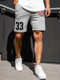 Cumpara ieftin Pantaloni scurți de trening gri bărbați Bolf EX06-1