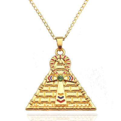 Lant/Lantisor/Colier/Pandantiv egipt piramida faraon ochiul lui horus foto