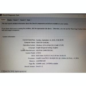 Laptop Gaming ASUS ROG G75VW