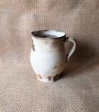 Cana de pamant Oltenia, ceramica veche, cana veche de lut - arta populara