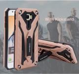 Samsung Galaxy J5 PRIME - Husa Antisoc Rose Gold Easybear Cu Suport