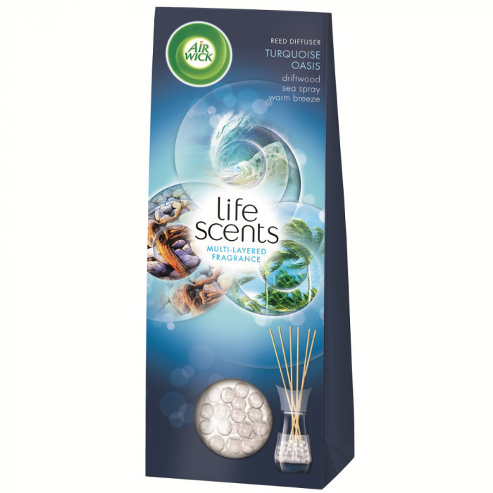 Odorizant Reed Diffuser Life Scents Turquoise Oasis