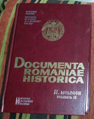 Documenta Romaniae Historica A. Moldova vol. IX 9 (1593-1598) foto
