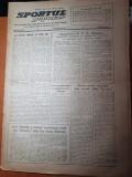 sportul popular 5 ianuarie 1954-calendarul intern al comitetului pt sport