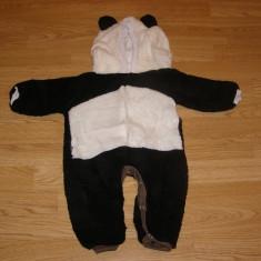 Costum carnaval serbare animal urs panda pentru copii de 6-9 luni, Din imagine