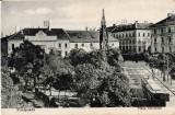 Carte Postala Timisoara 1925 Piata Libertatii, Necirculata, Fotografie