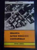 Dinamica Satului Romanesc Contemporan - Savel Davicu ,545802