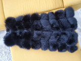 Vesta lunga din 100% blana naturala,noua!