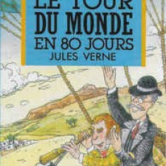 Caseta Jules Verne – Le Tour Du Monde En 80 Jours, originala