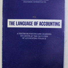THE LANGUAGE OF ACCOUNTING by ALEXANDER HOLLINGER , 2004