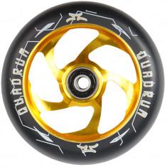 Roata Trotineta AO Quadrum 110mm gold + Abec 7