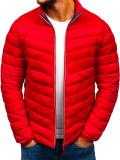 Cumpara ieftin Geacă sport bărbați roșie Bolf LY1015