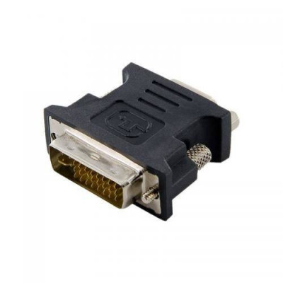 Adaptor 4World DVI-I Male (24+5) - VGA Female Negru foto