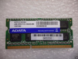 Cumpara ieftin Memorie Laptop Adata 4GB DDR3 PC3-10600S 1333Mhz