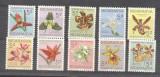 Nicaragua 1962 Flowers, Orchids, MNH AM.108