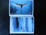 Serie timbre fauna animale nestampilate ONU New York timbre filatelice postale