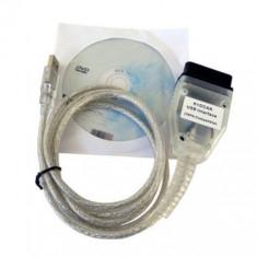 Interfata diagnoza auto BMW INPA Ediabas K+D+CAN DCAN USB OBD2 EOBD Chip FT232RL