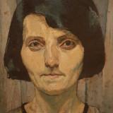 Tablou Maria Ciurdea Steurer - Autoportret, Portrete, Ulei, Impresionism
