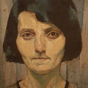 Tablou Maria Ciurdea Steurer - Autoportret