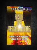 PETER McMILLAN - TESTE DE PERSONALITATE