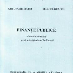 Finante publice - Invatamant la distanta