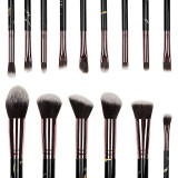 Set 15 pensule machiaj Colour Your World - Black