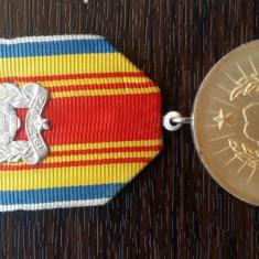 (M15) MEDALIE ROMANIA - 25 DE ANI DE LA PROCLAMAREA REPUBLICII 1947-1972
