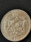 1... Leu 1874, foarte frumos
