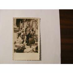 GE - Foto ilustrata veche familii ofiteri romani / 2 militari / Braila 1935