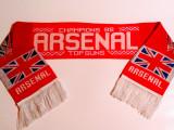 Fular (model vechi) fotbal - ARSENAL LONDRA (Campioana Angliei 1998)