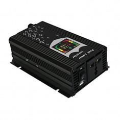 Invertor de tensiune cu display 12V-220V, 300 W, USB