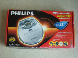 Discman MP3 PHILIPS EXP 321 plus Casti SONY - ca NOU