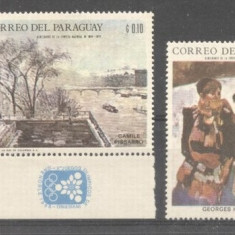 Paraguay 1968 Paintings, MNH M.075