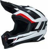 Casca Atv/Cross Ufo Plast Quiver Ontake, culoare alb/negru, XS Cod Produs: MX_NEW HE122XS