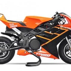 Motocicleta electrica Pocket Bike NITRO Eco TRIBO 1060W 36V Orange