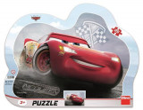 Puzzle cu rama - Cars 3: Fulger McQueen (25 piese) PlayLearn Toys, Dino