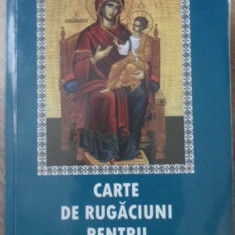 CARTE DE RUGACIUNI PENTRU VARSTNICI - NECUNOSCUT
