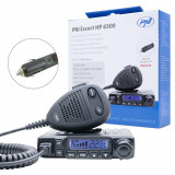 Resigilat : Statie radio CB PNI Escort HP 6500, multistandard, 4W, AM-FM, 12V, ASQ