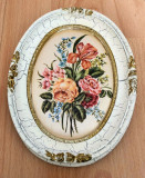 Tablou matase - decorativ / de colectie - rama baroc - Germania
