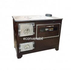 Soba pe Lemne Q40 cu cuptor Ertone MN1000 5,5kW