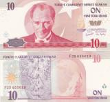 Turcia 10 Lire 2005 UNC