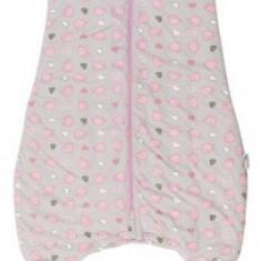 Sac de dormit cu picioruse si talpa antiderapanta Pink Elephant 3-4 ani 2.5 Tog
